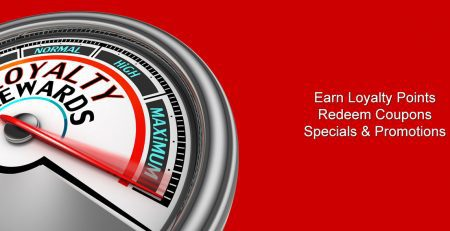 Specials, Coupons & Rewards
