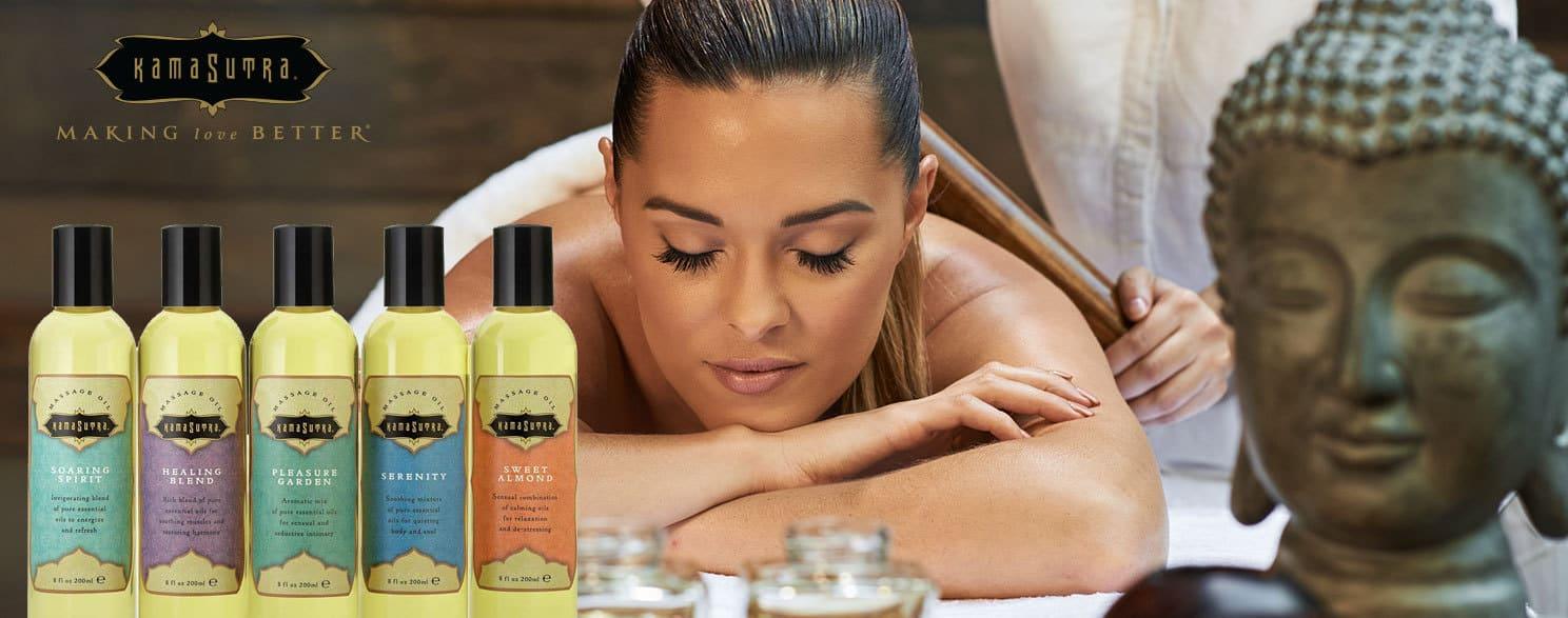 Sensual Aromatic Massage Oils