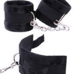 Fare L'Amore Captivated Soft Ankle Cuffs (Black)