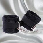 Fare L'Amore Captivated Soft Handcuffs (Black) Feature