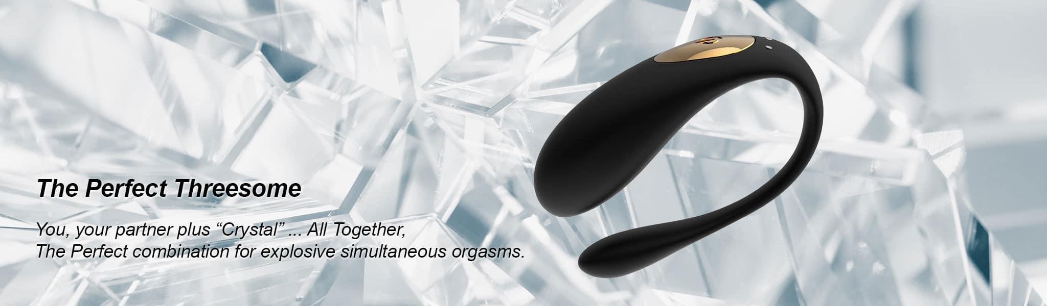 Crystal Couples Vibrator