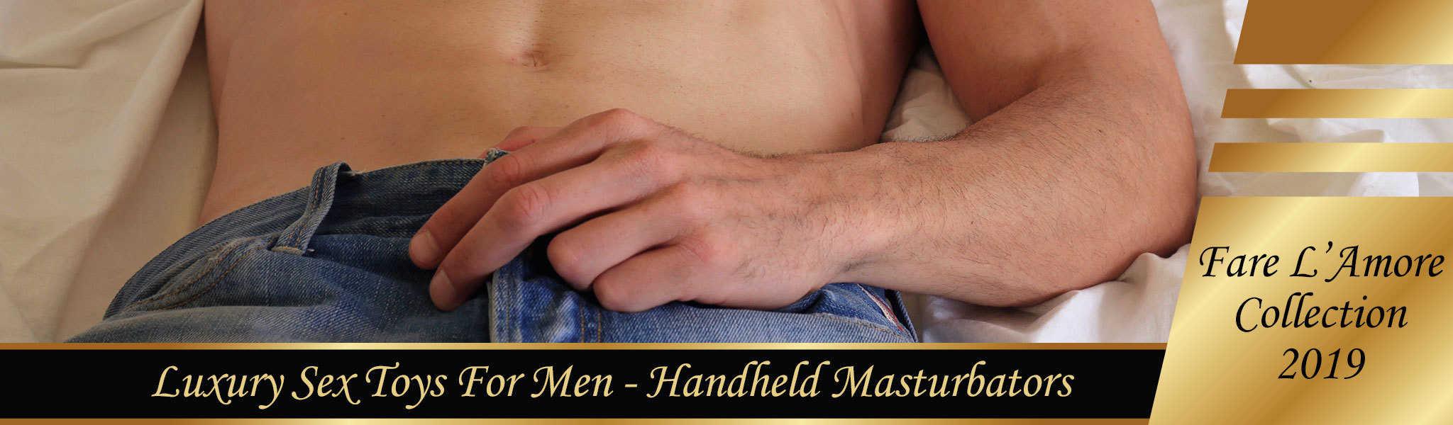 Handheld Masturbators | Sex Toys For Men