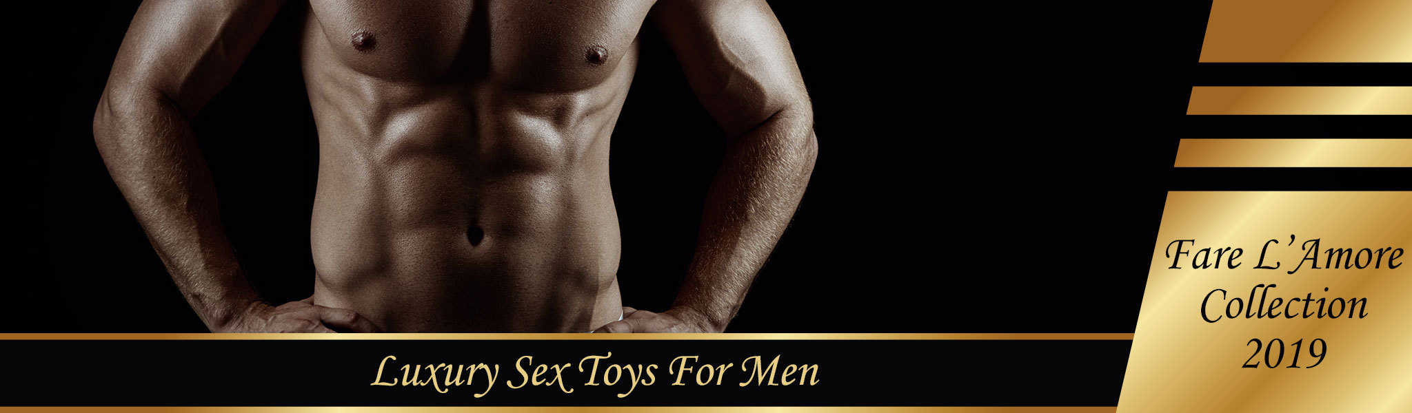 Luxury Sex Toys For Men | Fare L'Amore